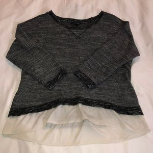 Black and Gray American Eagle Sweater